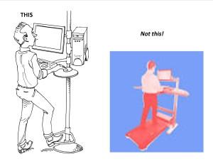 stand vs treadmill
